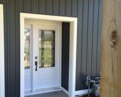 New Siding and Entry